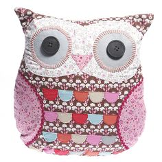 https://www.sassandbelle.co.uk/Emmeline Owl Cushion