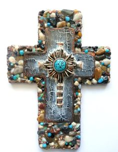 CROSS ooak found object mixed media by CrossMyArtByLynnWebb
