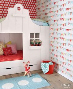 Papel para habitaciones infantiles http://www.mamidecora.com/papeles_pintados_ni%C3%B1os_ni%C3%B1as_Esta_Home.html