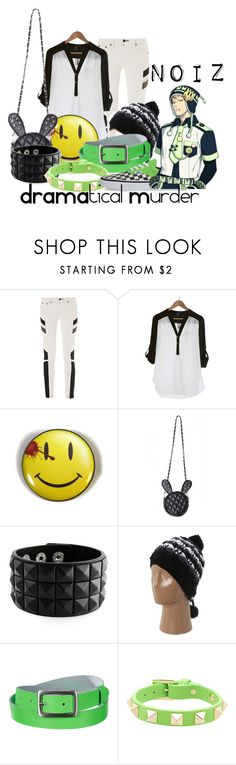 """Noiz, from DRAMAtical Murder"" by blackrabbitmegapig ❤ liked on Polyvore featuring rag & bone/JEAN, PAM, Dakine, Valentino and Vans"