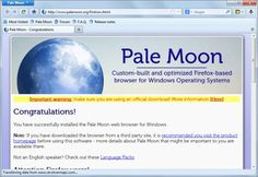 Pale Moon 24 ships with many new – and old – features   -   Pale Moon is an excellent alternative to Firefox, for Firefox users who want to keep using their browser extensions but do not really like where Mozilla is headed. | gHacks