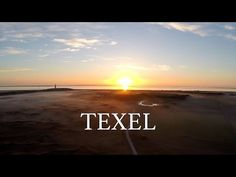Texel in vogelvlucht bezien met een drone | Vakantie op Texel Drone, Aerial View, Celestial, Sunset, Outdoor, Netherlands, Vacations, Haus, Sunsets