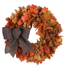 Urban Florals Autumn Harvest Sunrise Wreath  $53  Autumn