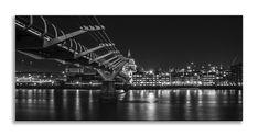 Check out our new Canvas Art  http://thousandface.myshopify.com/products/millennium-bridge-black-and-white-panorama-canvas-wall-art-picture-home-decor?utm_campaign=social_autopilot&utm_source=pin&utm_medium=pin  #canvas art # thousandface