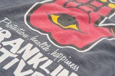 Protection, health, happiness #font #franklinandmarshall #tshirt