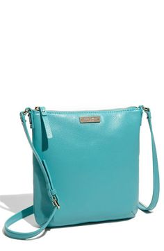 Want...Kate Spade Crossbody Bag...in this lovely blue!