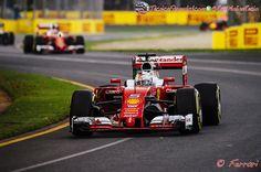 """Vettel: """"Intentamos ser más agresivos, pero no nos funcionó""""  #F1 #Formula1 #AusGP"""