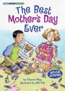 (Kane Press) Lucy wants to give her mom the best Mother's Day ever. But her ideas always end in disaster—until Lucy's friend Diego helps her cook up a special Mother's Day surprise, Mexican-style!