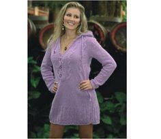 Vestido de tricô com Fio Ternura - Receita   Tricô + Crochê