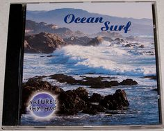 Aromatherapy Series Concentration by Nature Rhythms CD Ocean Surf Dancing Waves #NaturalSounds