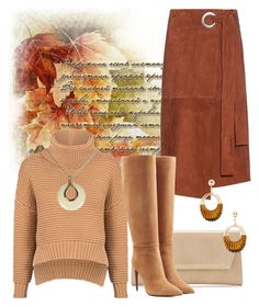 """""""Colors of Autumn"""" by hastypudding ❤ liked on Polyvore featuring TIBI, Jimmy Choo, C/MEO COLLECTIVE, Ralph Lauren Collection, Lanvin, Fall and fashionset"""
