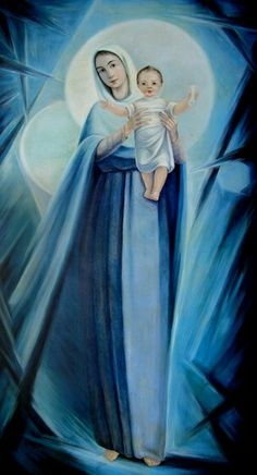 """""""Like a branch ever bearing its fruit and offering it to humankind, Mary always gives Jesus: suffering, glorious, eucharistic,          the Way, the Truth and the Life...""""           Blessed James Alberione, ssp, Founder of the Pauline Family"""
