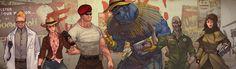 Fallout : New Vegas all companions by Penett.deviantart.com on @DeviantArt