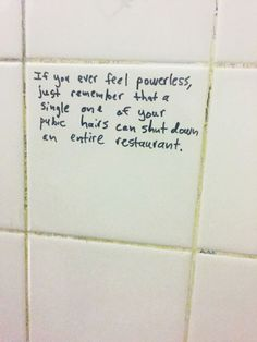 [Trending Now] 15 Inspirational Bathroom Stall Messages To Make Your Day Less Crappy