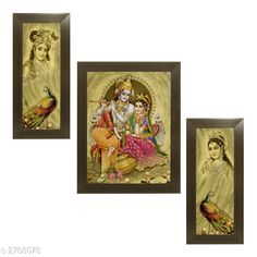Religious Idols & Paintings Trendy Personal Home Painting Material: Synthetic Size : Frame 1 (L x W) - 6 in x 13 in          Frame 2 (L x W) - 10.2 in x 13 in          Frame 3 (L x W) - 6 in x 13 in Description: It Has 3 Pieces Of Frames With Painting (Glass Is Not Included) Work: Printed Country of Origin: India Sizes Available: Free Size   Catalog Rating: ★4 (346)  Catalog Name: Trendy Personal Home Paintings Vol 1 CatalogID_378367 C128-SC1316 Code: 323-2788078-066