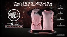 https://flic.kr/p/ywU6GM | Playera oficial Querétaro Maratón 2015 - Dama | Marca: Nemik Fotografía de producto y diseño para la presentación de la playera oficial. #Nemik