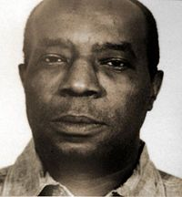 "Ellsworth Raymond Johnson (October 1905 – July — known as ""Bumpy"" Johnson — was an American mob boss and bookmaker in New York City's Harlem neighborhood. The main Harlem associate of the Genovese crime family, Mafia, Bumpy Johnson, William Johnson, Real Gangster, Harlem Renaissance, Thug Life, African American History, History Facts, White Man"