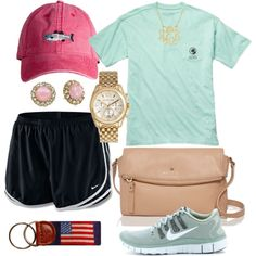 Southern proper and nikes