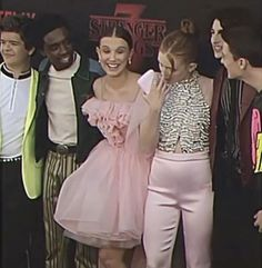 Rare Video Of Stranger Things Cast 3 premiere