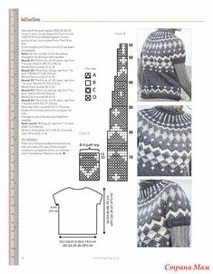 Easy Knitting Patterns for Beginners - How to Get Started Quickly? Knitting Machine Patterns, Sweater Knitting Patterns, Knitting Charts, Knitting Stitches, Knit Patterns, Free Knitting, Diy Crafts Knitting, Diy Crafts Crochet, Tejido Fair Isle