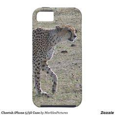 Cheetah iPhone 5/5S Case