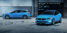 Volvo starts production of the new Volvo S60 and V60 Polestar