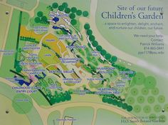 PENN STATE – CAMPUS – 8/19/13 Plans for a new Children's Garden area for The Arboretum at Penn State