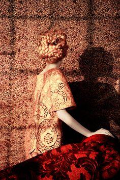 Photo: Erik Madigan Heck Dolce & Gabbana metallic cotton top