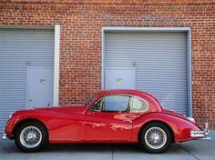 1955 Jaguar XK140 MC Coupe. (Fixed Head)