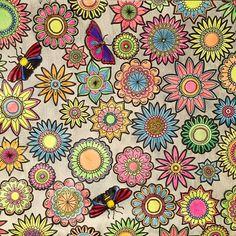 Gente Olha Q Lindo Esse Da Pattyniero Ela Usou Lapis De Coloring BooksAdult ColoringSecret GardensNeon ColorsColouring PencilsSilverVintage