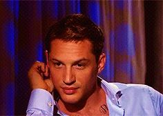 oh my Lord! Tom Hardy (gif)
