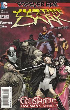 Justice League Dark # 24 DC Comics The New 52!