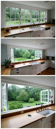 Gorgeous Farmhouse Kitchen Inspiration (16)