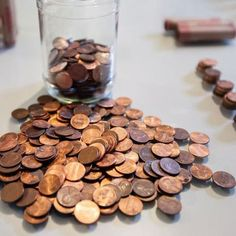 Putting on a penny wars fundraiser just got a little easier for your PTO/PTA! Learn the rules of the game, create a custom fundraiser flyer, get printable rule charts, advice on jars and containers for the coins, bulletin board ideas, and so much more! Learn more at roommomrescue.com #pennywarsfundraiser #pennywarsfundraiserjars #pennywarsideas