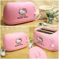 TOASTER HELLO KITTY | PEMANGGANG ROTI HELLO KITTY