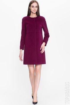 556bff5c2845 Пальто Pompa 162558 за 13800 руб. со скидкой 20% Интернет магазин брендовой  одежды премиум
