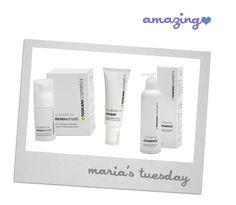 Energising Cleanser, Aquabalance Mesoserum and Cream – Toskani Cosmetics Skincare