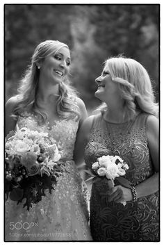 Bride and her mom by innovfitness