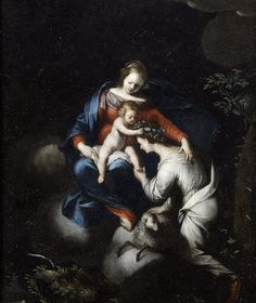 Sante Creara (Italian, b. ca. 1572–d. ca. 1630)Madonna and Child slate  .jpg