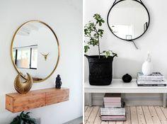 RDISENO INTERIORISMO DECORACION MADRID tendencia decoracion espejos circulares redondos 02