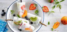 Recept: Kokosové nanuky s ovocem