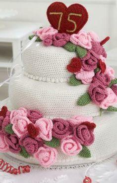 Anniversary Rose Cak