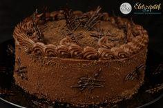 Csokitorta egyszerűen | Szépítők Magazin Hungarian Recipes, Hungarian Food, Tiramisu, Food And Drink, Pie, Cooking Recipes, Chocolate, Ethnic Recipes, Cakes