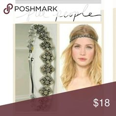 Flash sale ! Free people headband by deepa gurnani Extremely talented high end designer Deepa Gurnani ( If you havent heard of him you MUST check him out!) Made these fir free people! Very nice statement peice Free People Accessories Hair Accessories