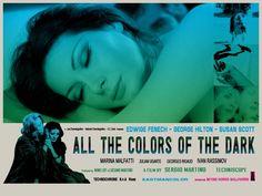 """All the Colors of the Dark (Lobby Card), Lobby card for """"All the Colors of the Dark"""". """"All the Colors of the Dark"""" (Italian: """"Tutti i colori del buio"""") is a 1972 Italian giallo film directed by Sergio Martino."""