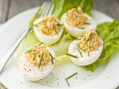 Dukan Diet - Attack Phase - Deviled Eggs