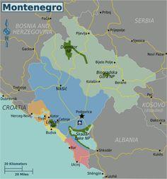 117 Best Montenegro Map images