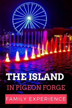 The Island in Pigeon Forge—The Family Experience - MobileBrochure - Smoky Mountains Tennessee Cabins, Pigeon Forge Tennessee, Gatlinburg Tennessee, Tennessee Vacation, East Tennessee, Alaska Travel, Alaska Cruise, Gatlinburg Vacation, Vacation Spots