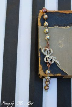 Vintage Rhinestone Pyrite and Pearl Assemblage One by simplymeart, $70.00