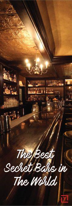 The 21 Best Secret Bars in the World | NYC, London, San Francisco, Singapore, Denver, Gruyeres, Switzerland, Philadelphia, Mexico City, Paris, L.A., Berlin, San Diego, Chicago, Amsterdam, Raleigh,
